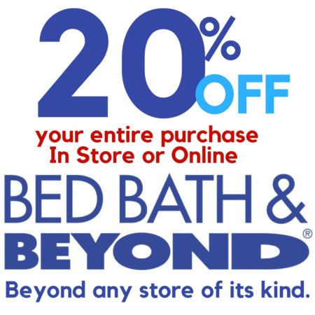 Bed Bath And Beyond Instant Coupon